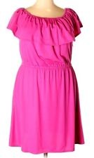 NWT*Cute NY COLLECTION Women's Plus Size Dress Stretchy Fit Size 2X Pink*
