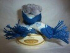 Me To You peluche ourson 7 cm *-* FRILEUX *-* cache nez tricot bleu blanc