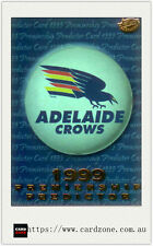 1999 Select AFL Trading Cards Holofoil Premiership Predictor Card PC1 Adelaide