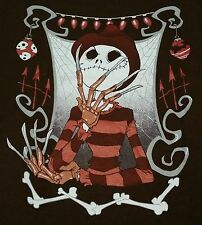 """The Nightmare King"" Before Christmas Elm Street Men's Small Shirt Teevillain"