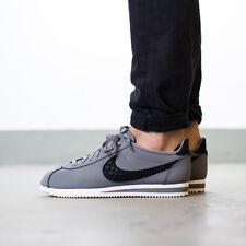 UK 11 Men's Nike Classic Cortez Leather SE Grey Trainers EUR 46 US 12 861535-002