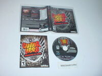 GUITAR HERO: WARRIORS OF ROCK game complete in case w/ manual- Playstation 3 PS3