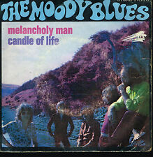 "45T 7"": the Moody Blues: melancholy man. treshold. A8"