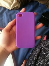 silicone iphone 4 case Purple