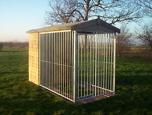 APEX BAR Dog Kennel And Run - From £695