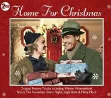 Home For the Holidays 2 CDs Christmas Original Festive Songs Vera Lynn Peggy Lee