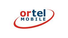 Ortel Mobile O2/E-Plus Netz Deutsche SIM Karte REGISTRIERT AKTIVIERT