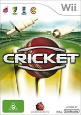 Cricket for Nintendo Wii (2009, PAL)