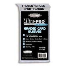 ULTRA PRO CARD SLEEVES GRADED 1PKG (100 PER PKG) **NO ADDED SALES TAX SURPRISES*