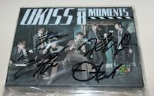 U-KISS 8th Mini Album MOMENTS Autographed Signed CD