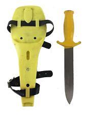New listing Espadon Tarzan Diving Knife w/ Sheath - (Made In France)