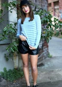 BNWT Knit Top by Madison Square Clothing - Blue size small