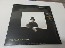 L COHEN, YOU WANT IT DARKER, EXCL LTD 180GR WHITE VINYL ED US + BOOK (SEALED)
