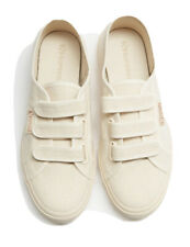 Brand new Superga Tennis Shoes In Raw Beige And Rose Gold