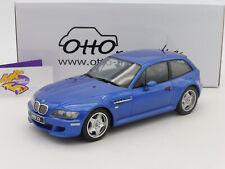 """OTTOmobile OT318 # BMW Z3 M Coupe 3.2 Baujahr 1991 """" dunkelblau """" 1:18 NEUHEIT"""