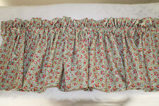 CALICO Curtain Valance Floral WIDE VALANCE Window Curtain Baby Nursery Girls NEW