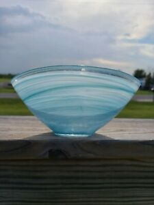 """Artistic Accents 7.25"""" x 4""""  Oval GLASS Serving Bowl,  NEW"""