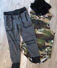 Boys S Five x Five Sleeveless Camo Designer Shirt DCBD M Jogger Pants Outfit 374