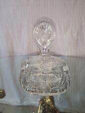 bonbonnière cristal baccarat saint louis