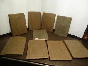 9 BOOKS - SHERWIN CODY SCHOOL OF ENGLISH - NUTSHELL LIBRARY - 1927
