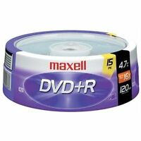 Maxell 639008 Dvd+r 4.7gb16x 15pk Spindle