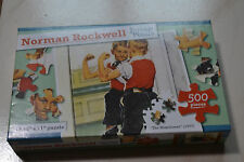 """Norman Rockwell 500 pc puzzle """"Themuscle man"""" 1937"""