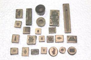 23 Designs Bracelet Ring Indian Bronze Jewelry Mold Old Vintage Antique  W-87