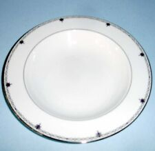 """Lenox Sapphire Jewel Soup Pasta Bowl 9"""" Made In USA New"""