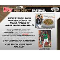 2020 TOPPS PRO DEBUT BASEBALL FACTORY SEALED JUMBO BOX IN STOCK FREE SHIPPING