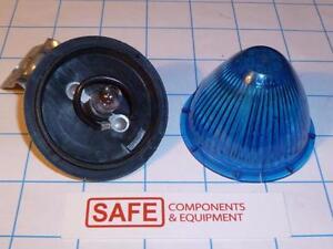 Tail Light Bracket PM110 BLUE Beehive Lens SATE-157-LITE 14V Bulb QTY-1 R53-13