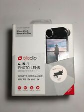 Pre-Owned ōlloclip 4-IN-1 Photo Lens, Fisheye, Wide-Angle, iPhone 6/6s & 6Plus