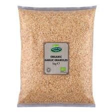 Organic Garlic Granules 1kg Certified Organic