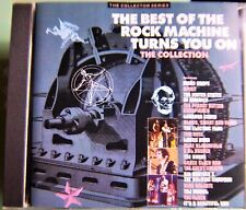 Best of Rock Machine Turns You On CD – Castle CCSCD 224 - UK Import 1989  20 TK