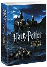 PACK HARRY POTTER DVD LA COLECCION COMPLETA ESPAÑOL NUEVO CASTELLANO