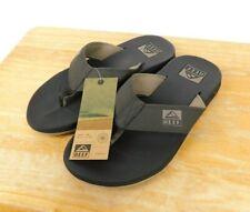 Reef Men's Size 7M Element Brown Sandals Flip Flops Thong T Strap Slides NEW