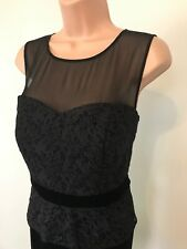 Alexon Dress Black Evening Size 14
