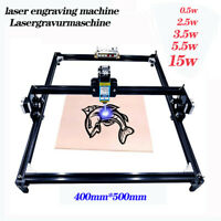 40X50cm Laser Engraving Machine  2 Axis DIY MINI Laser Engraver 0.5W - 15W Power