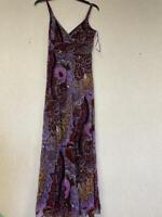 I.n.c. Geometric-Print Maxi Dress, Size Medium NWOT