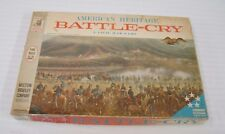 1961 MILTON BRADLEY American Heritage BATTLE CRY  A Civil War Game No. 4115