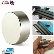 40mm20mm N52 Round Large Neodymium Rare Earth Magnet Big Super Strong Huge 2021