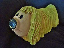 chien-pollux-ORTF-le manège enchanté-jouet plastique- roulettes-vintage-60-dog