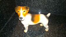 Vintage Ceramic Pottery Jack Russell Terrier Dog Figure Good Condition