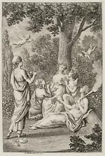 CHODOWIECKI (1726-1801). Die personifizierte Flora mit den Jahreszeiten