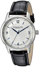 Stuhrling Original 572 01 Men's Classique Analog Display Quartz Black Watch