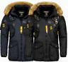 Geographical Norway Herren Winter jacke FVSA Parka Outdoor Mantel Luxus AGAROS
