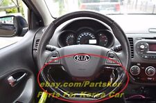 2012 ~ KIA PICANTO MORNING Steering Wheel ORNAMENT BLACK Genuine PART OEM