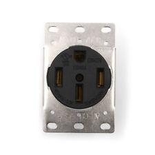 50A 125-250V Industrial Grade NEMA 14-50R Straight Blade US Four Holes Socket C&