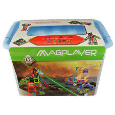 198 Magnetic Pieces Magplayer - Best Christmas gift  for school kids development