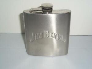 Jim Beam Stainless Steel Flask Barware -011330