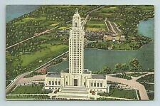 Louisiana State Capitol Baton Rouge LA Postcard